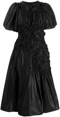 Simone Rocha ruched midi dress