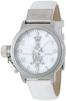 Christian Audigier Unisex INT-314 Intensity White Frost Stainless Steel Watch