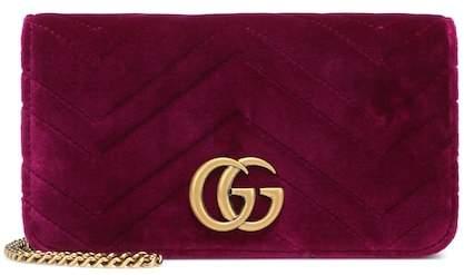86aa2604c143 Gucci Purple Shoulder Bags - ShopStyle