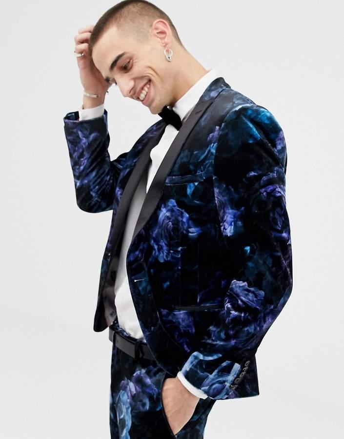 358d4cea2b9 Men Floral Suit - ShopStyle