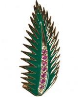 Alison Lou palm leaf earring