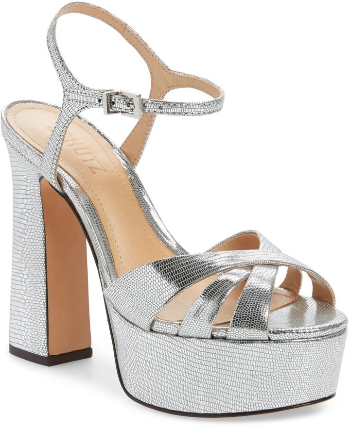 Schutz Delanie Platform Sandal