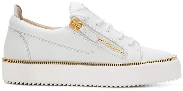 Giuseppe Zanotti Design Nicki zip detail sneakers