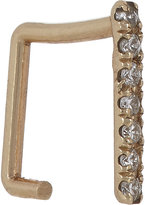 Grace Lee Women's Pavé Diamond & Gold Square Cuff Earring