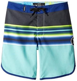 Hurley Zen Boardshorts (Big Kids) (Tropical Twist) Boy's Swimwear