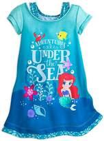 Disney Ariel Nightshirt for Girls Size 5/6