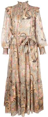 Ulla Johnson Constantine smocked midi dress