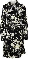 Celine Floral Trench Coat