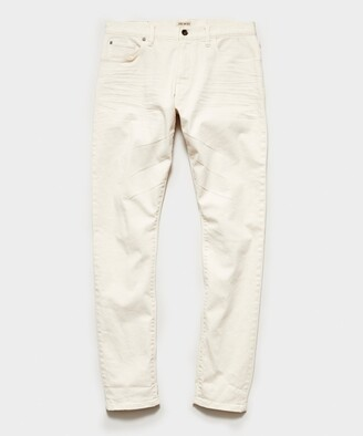 Todd Snyder Slim Fit 5-Pocket Chino In Canvas