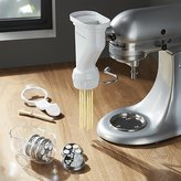 Crate & Barrel KitchenAid ® Stand Mixer Pasta Press Attachment.
