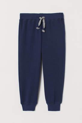 H&M Fleece-lined Joggers - Blue