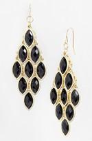 Tasha Stone Chandelier Earrings