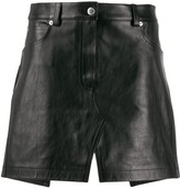Alexander Wang apron mini skirt