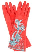 Prada Exclusive to mytheresa.com – embellished leather gloves
