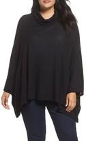 Caslon Plus Size Women's Knit Poncho