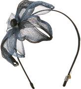 Colette Malouf Layered Mesh Orchid Headband, Blue/Black 1 ea