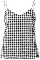Marques Almeida Marques'almeida - racer-back strap camisole - women - Polyamide/Polyester - L