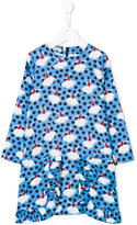 Marni flared print dress
