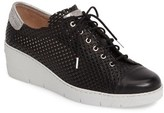 Hispanitas Women's Shelby Perforated Wedge Sneaker