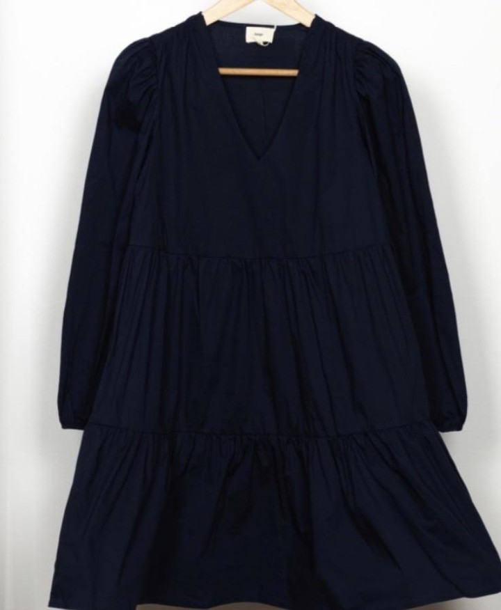 Thumbnail for your product : Margaux Elodie Black Cotton Dress - 1