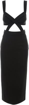 Dolce & Gabbana Cut-Out Detail Dress