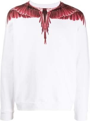 Marcelo Burlon County of Milan Wings crewneck sweatshirt
