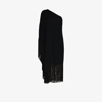 Taller Marmo Piccolo Ubud One Shoulder Tassel Dress