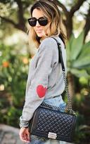 Ily Couture Heart on Your Sleeve Sweatshirt