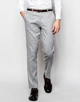 Asos Skinny Smart Pants in Linen Mix