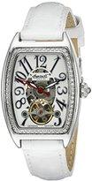 Ingersoll Women's IN3705WH Black Jade Analog Display Automatic Self Wind White Watch