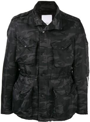 Ports V Camouflage Military Jacket