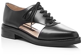 French Connection Mazin Cutout Side Lace Up Oxfords
