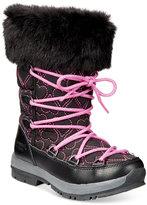 BearPaw Meredith Fur Heart Boots, Little Girls (11-3) & Big Girls (3.5-7)