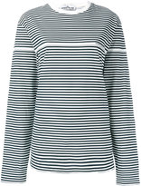 Stone Island striped long-sleeve T-shirt - men - Cotton - XL
