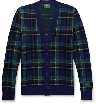 Woolrich Aimé Leon Dore + Checked Wool Cardigan