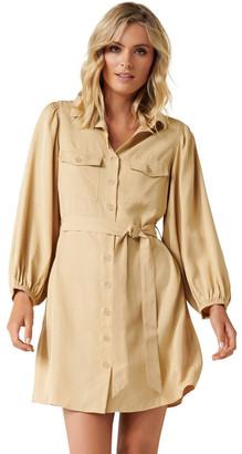Forever New Sophie Utility Mini Dress