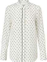 Jigsaw Nordic Crest Silk Shirt