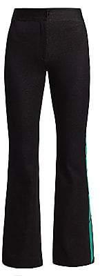 Monse Women's Jacquard Racing Stripe Pants