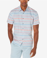 Perry Ellis Men's Multi-Color Striped Shirt