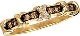 LeVian Le Vian Chocolatier 14K 0.18 Ct. Tw. White & Brown Diamond Ring