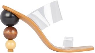 Cult Gaia Vita PVC Slide Sandals