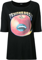 Undercover apple print T-shirt - women - Cotton - One Size