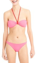 J.Crew Women's Reversible Bandeau Bikini Top