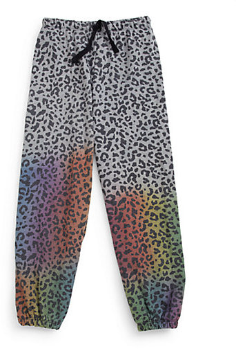 Flowers by Zoe Girl's Leopard Sweatpants
