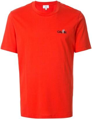 CK Calvin Klein boxy fit logo print T-shirt