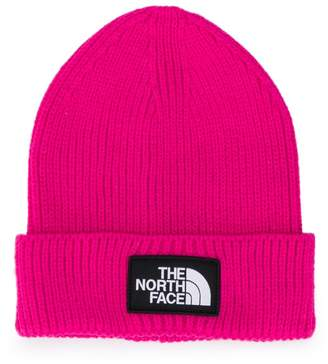 The North Face Kids ribbed knit beanie hat