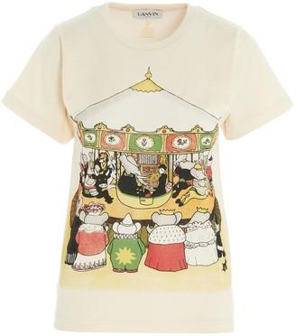 Lanvin Babar Carousel T-Shirt