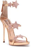 Giuseppe Zanotti Harmony Star 120 rose gold leather sandals