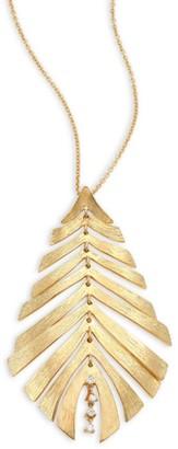 Hueb Bahia Diamond & 18K Yellow Gold Pendant Necklace