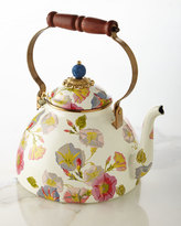 Mackenzie Childs MacKenzie-Childs Morning Glory 3-Quart Tea Kettle